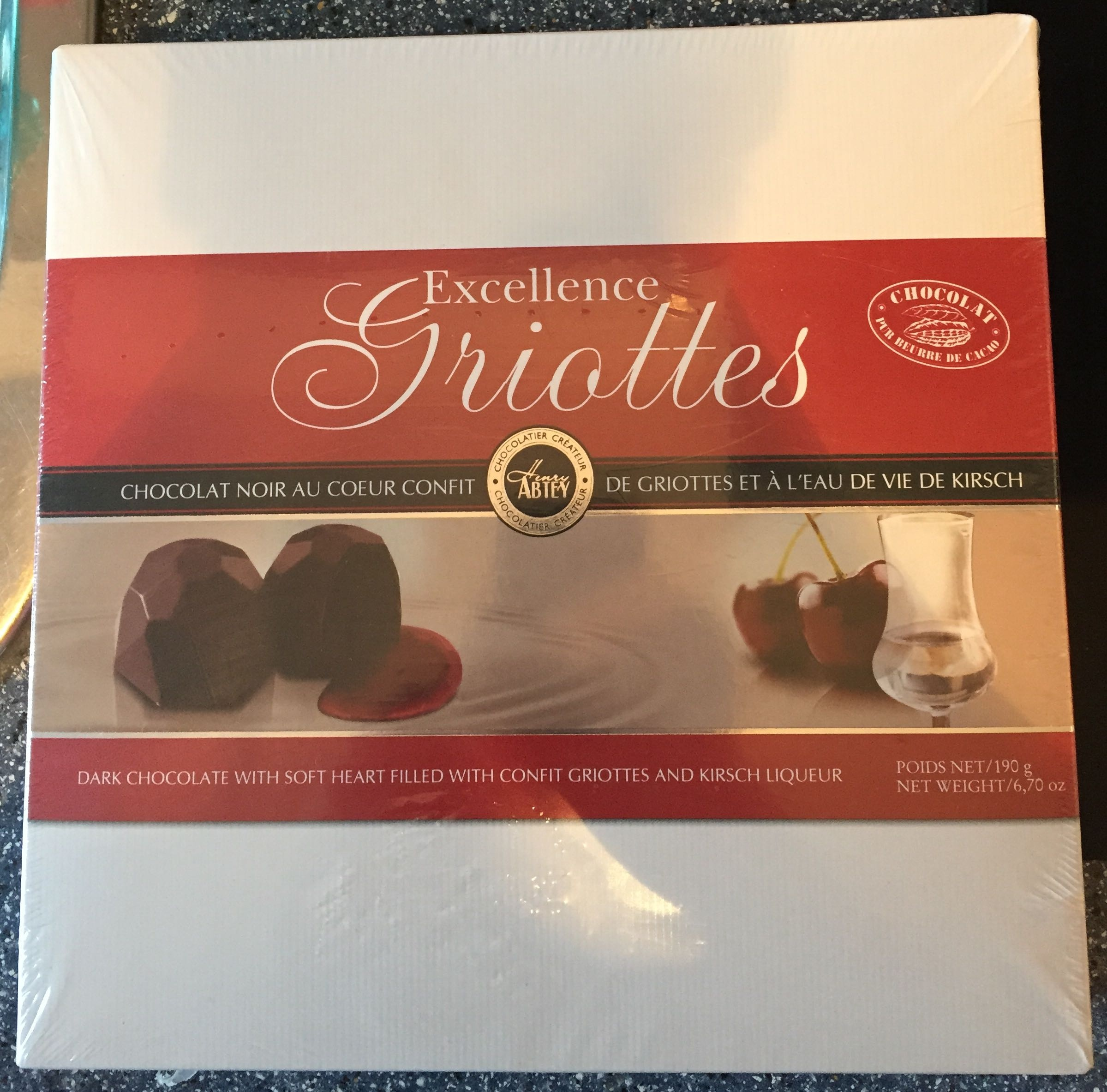 Excellence Griottes - Product - fr