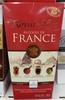 Chocolat noir extra fin fourré aux alcools de France - Product
