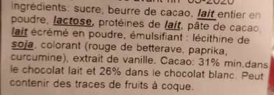 Sachet cocottes - Ingrediënten - fr