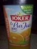 100% pur jus d'orange sans pulpe - Product