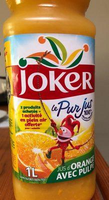 LE PUR JUS Orange avec pulpe - Produit - fr