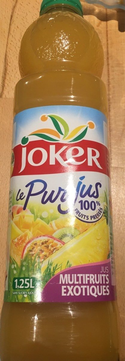 Le Pur Jus multifruit exotique - Product