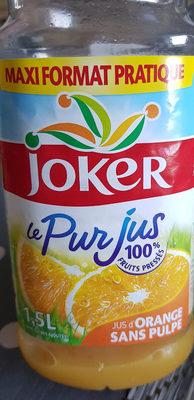 Jus d orange - Produit - fr