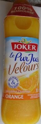 Le pur jus velours orange - Producto