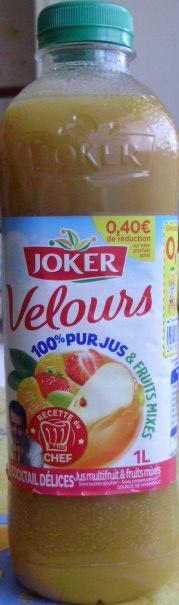 Velours 100 % pur jus & Fruits mixés Cocktail Délices - Produit - fr