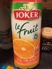 Le Fruit Orange sans pulpe - Produit