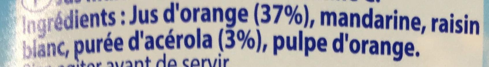 Le Pur Jus Matin Tonus - Ingrediënten - fr