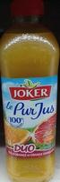 Le Pur Jus Duo jus d'orange et orange sanguine pressées - Product - fr