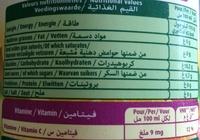 Le fruit Multifruit - Informations nutritionnelles - fr