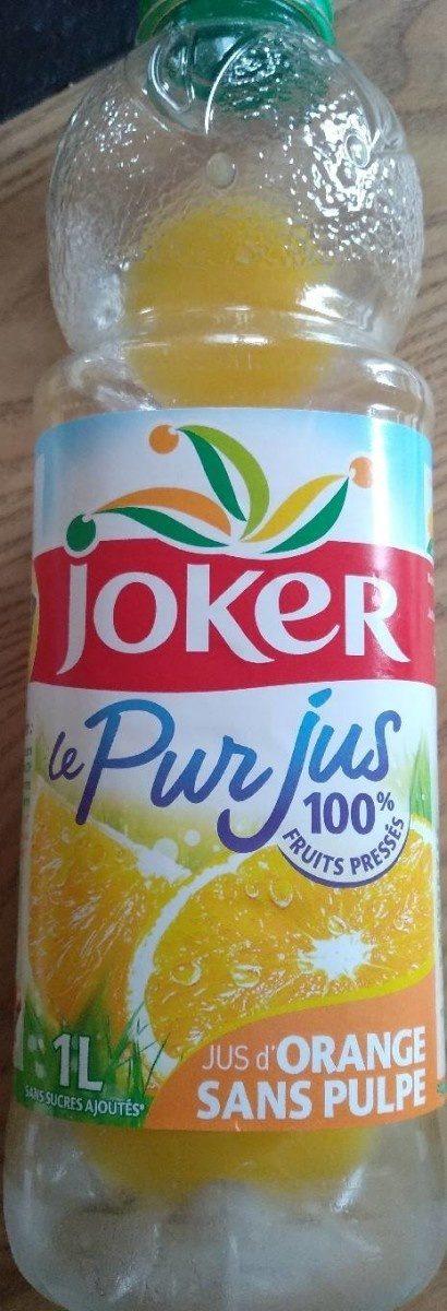 LE PUR JUS Orange sans pulpe - Product - en
