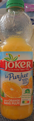 LE PUR JUS Orange sans pulpe - Prodotto - fr