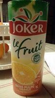 Le Fruit - Jus d'Orange - Produit