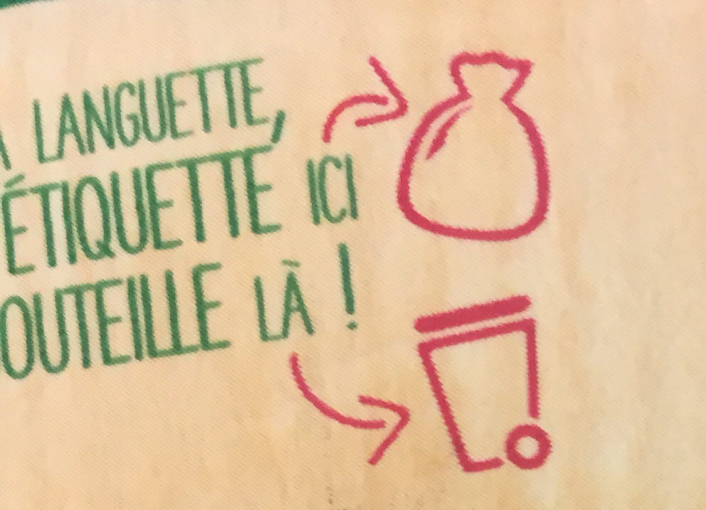 Le bio 3 agrumes sans sucres ajoutés - Recycling instructions and/or packaging information - fr