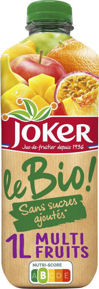 Nectar BIO Multifruits abc et purées. - Produit - fr