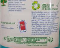 Jus ANANAS à base de jus concentrés. - Instruction de recyclage et/ou informations d'emballage - fr