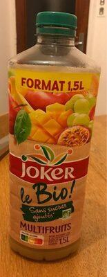 Joker Multifruit Bio - Produit - fr