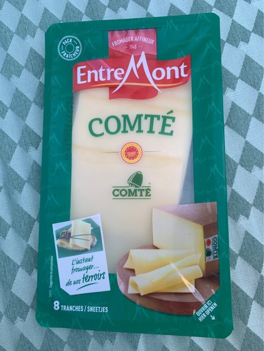 Comte - Informations nutritionnelles - fr