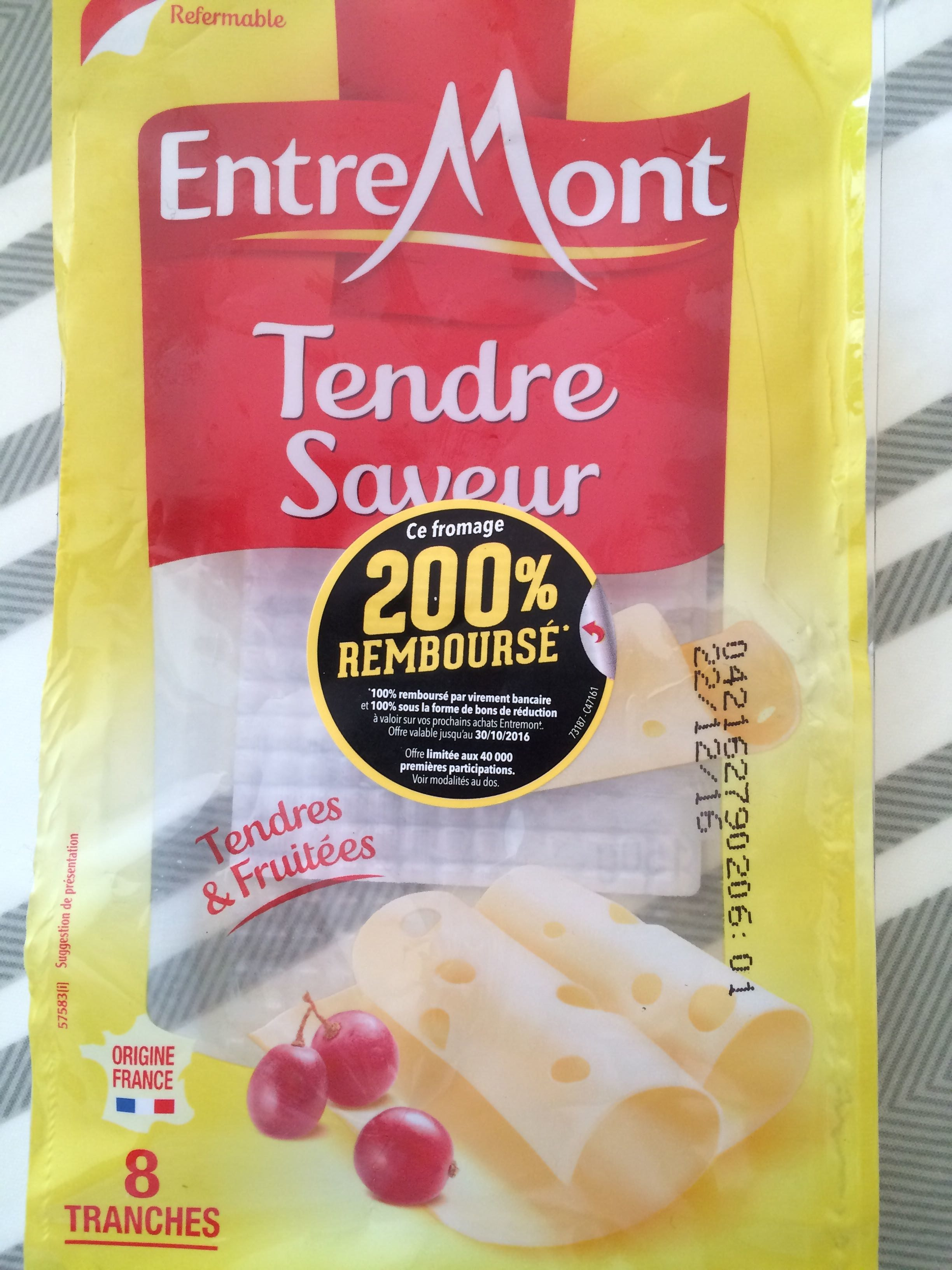Tendre saveur - Product
