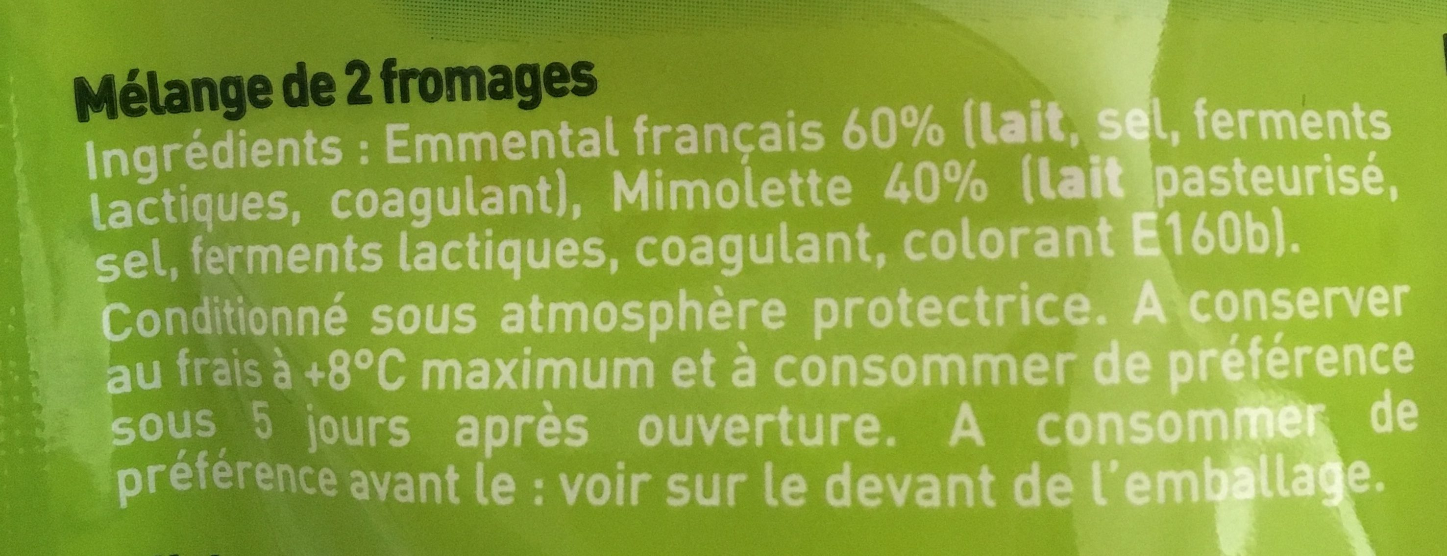 Fromage Pour Salade - Ingredients