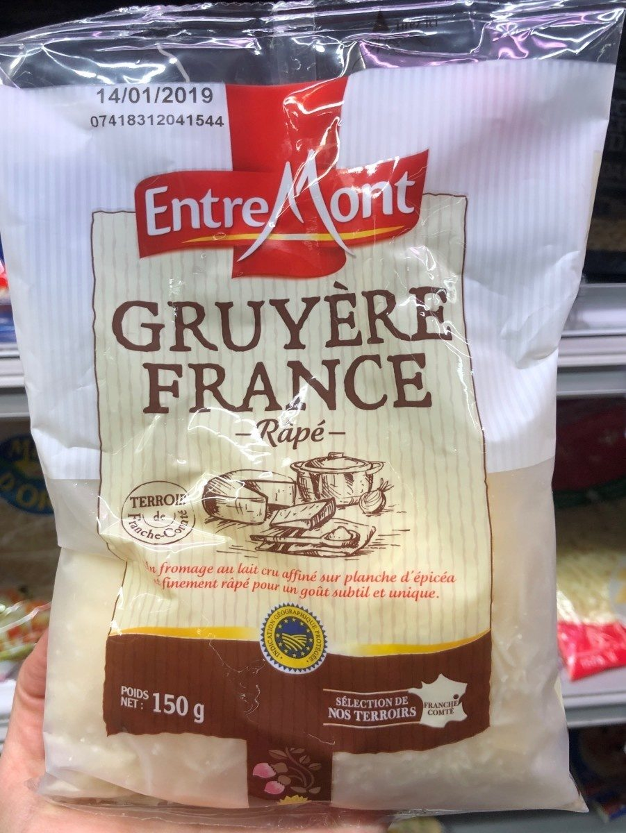 Gruyère france râpé - Product