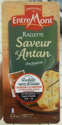 Raclette (30% MG) Saveur d'Antan au lait entier - 350 g - EntreMont - Product - fr