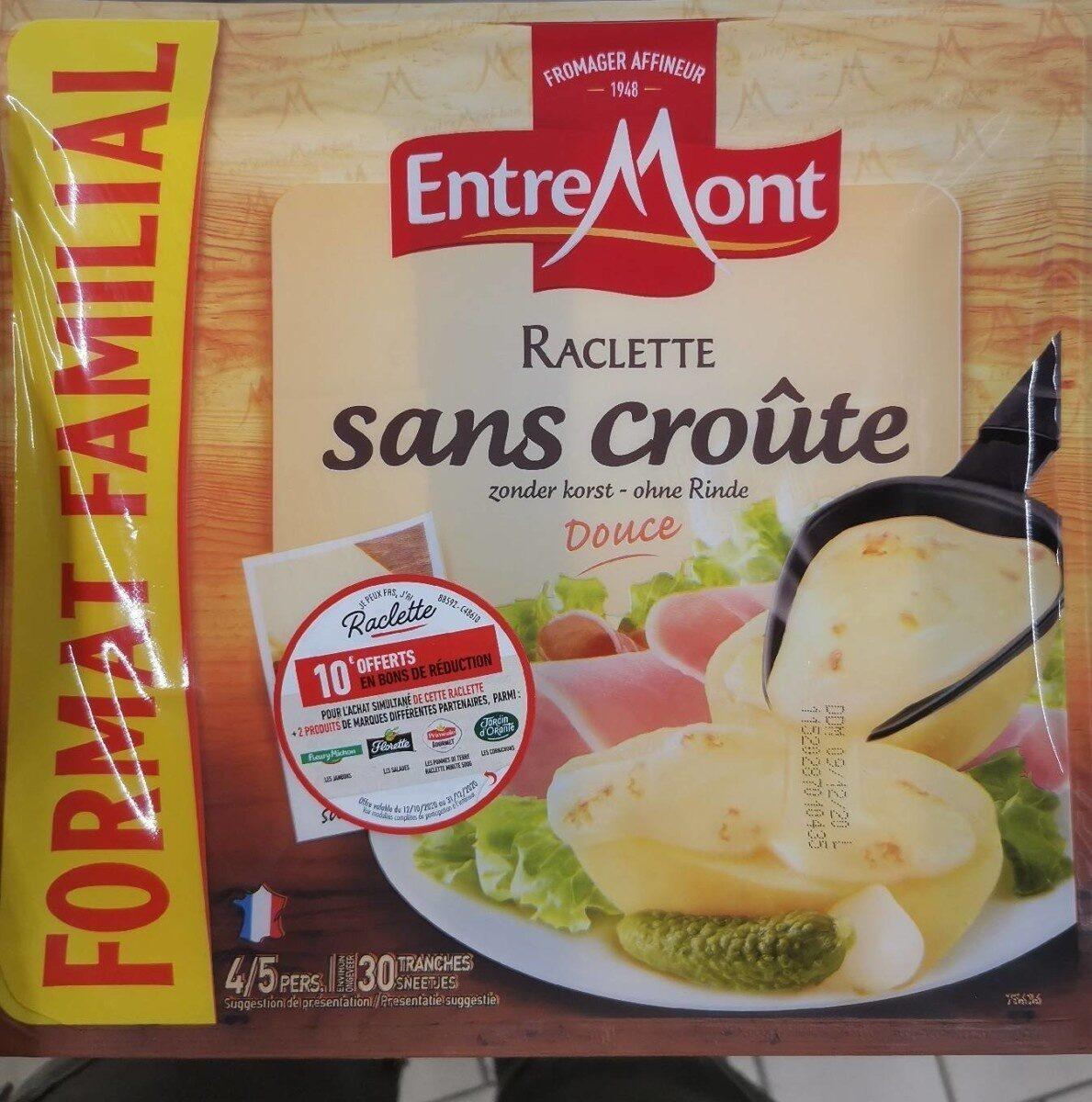 Raclette sans croute - Nutrition facts - fr