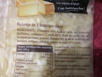 Fondue - Ingrediënten