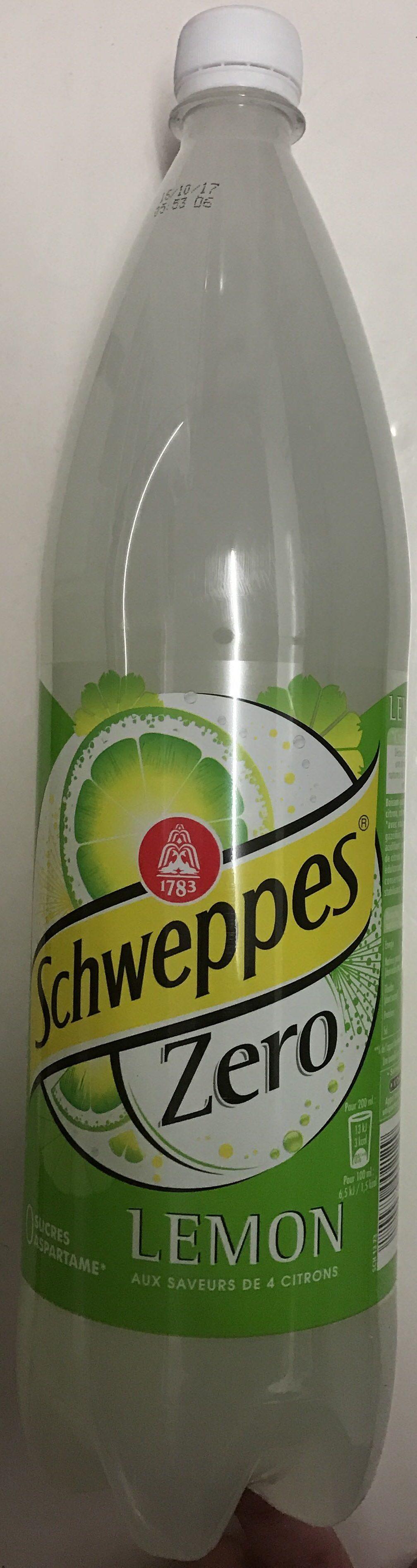 Schweppes Zero Lemon - Product - fr
