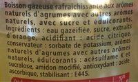 Schweppes Agrumes - Ingrédients