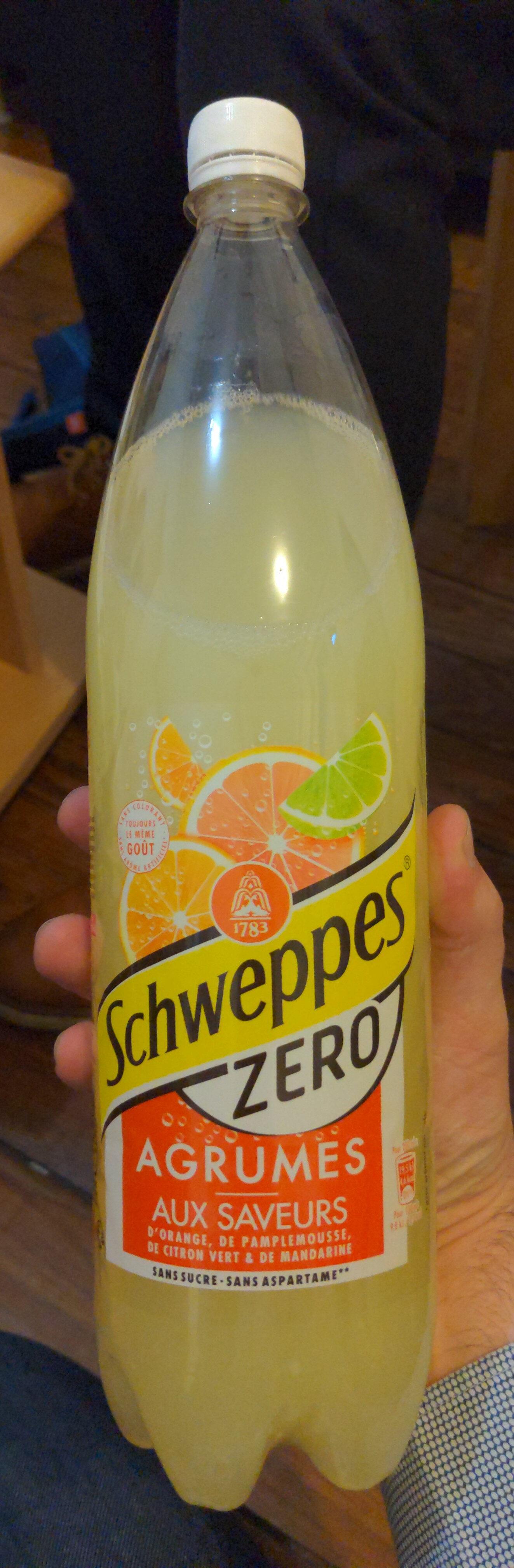 Schweppes Zero Agrum' - Produit - fr