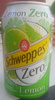 Schweppes Zero Lemon - Product