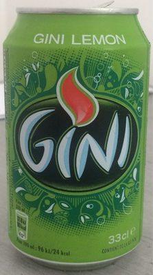 Gini lemon - Produit