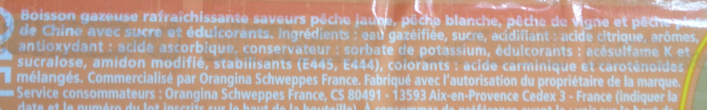 Pêch' - Ingredients - fr
