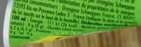 Lemon - Informations nutritionnelles - fr