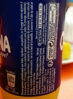 Orangina - Ingredientes