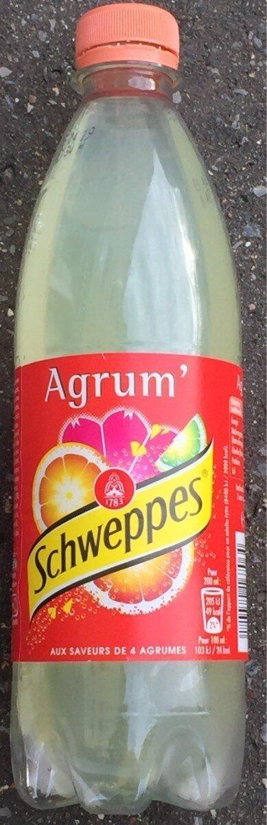Schweppes Agrum' - Product - fr