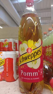 Schweppes Pomm', aux saveurs de  pommes - Product