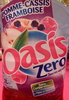 Oasis zéro Pomme cassis framboise - Product