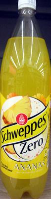 Schweppes Zero Ananas - Product