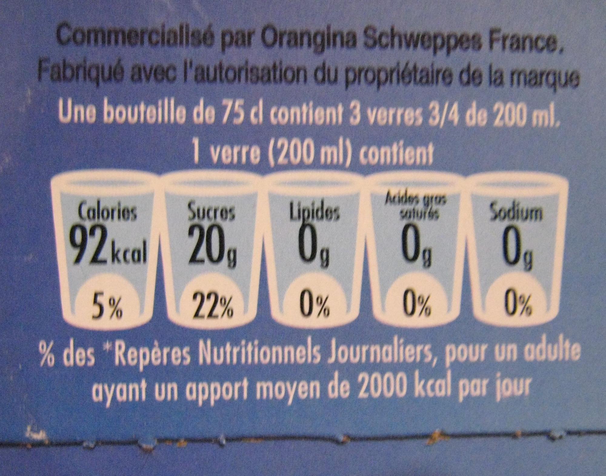 Jus de pomme pétillant Champomy (pack de 2) - Nutrition facts - fr