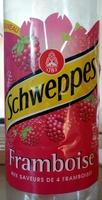 Schweppes Framboise - Product - fr