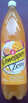Schweppes Zero Exotic - Product - fr