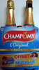 Jus de pomme pétillant (lot de 2) Champomy - Product