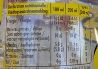 Schweppes indian tonic - Informations nutritionnelles - fr