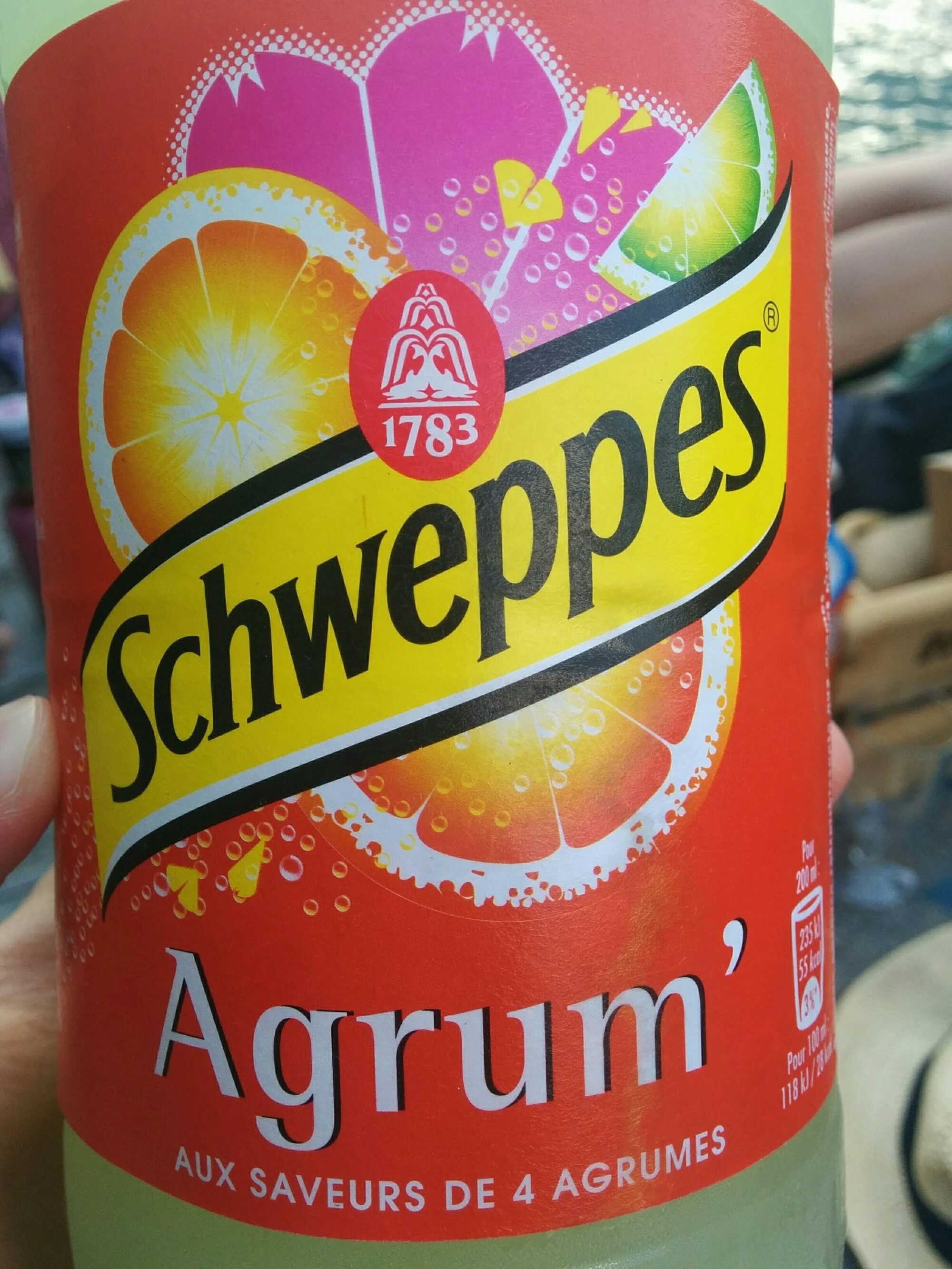 Schweppes Agrum' - Product - fr