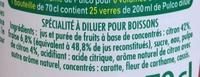 Citron Fraise à diluer - Ingrediënten - fr