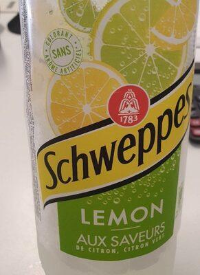 Schweppes lemon - Produit - fr