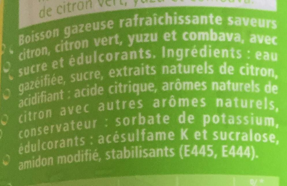 Schweppes lemon - Ingrédients - fr