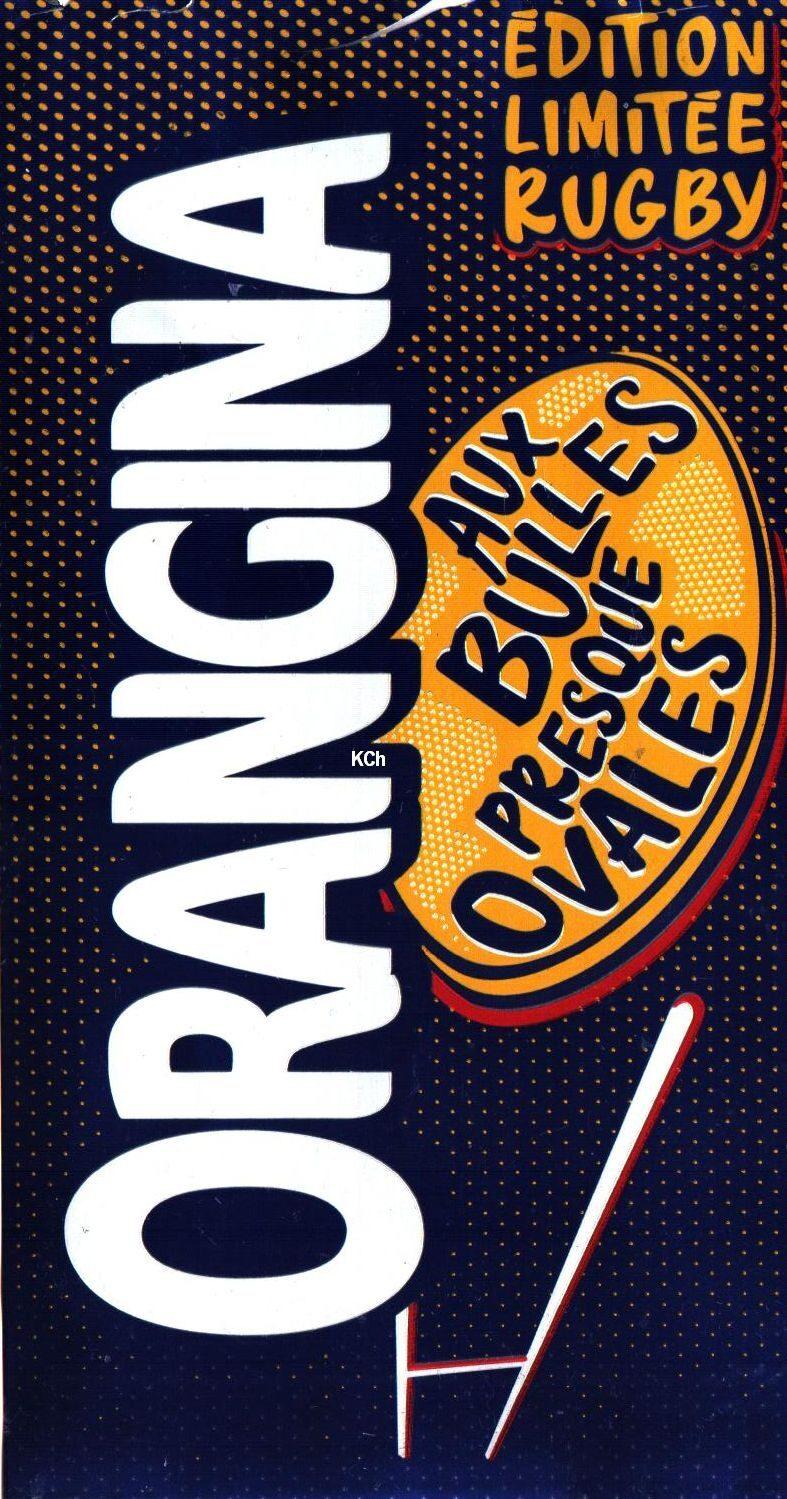 Orangina Édition Limitée Rugby - Produit