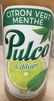 Pulco citron vert et menthe - Product